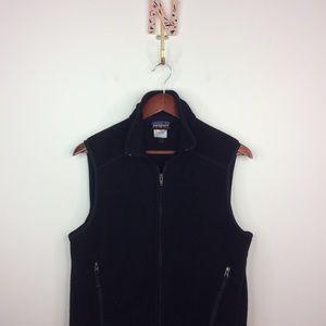 Patagonia Synchilla Black Vest Medium